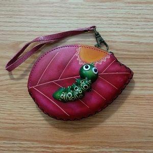 Handbags - Cute leather coin purse